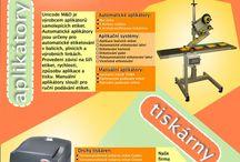 Prospekty - Leaflets / Firemní prospekty nabízeného zboží, výrobků a služeb