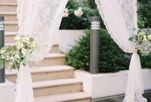 svatebni brány a dekor na obřad