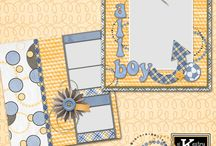 Quick Pages: Digital Scrapbooking Pages by Kathryn Estry / Beginner-Easy Quick Pages