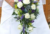 Sea theme Wedding / Sea theme and incorporating Mauve Bouquets, Corsages, Buttonholes, Pedestals and Pew Endshttp://omantribune.com/details/13081/