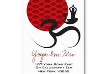 Asian & Zen Business Cards / asian, zen, oriental, eastern and spiritually inspired designs | custom business cards templates | all original designs by fat*fa*tin
