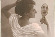 vintage portrety