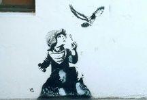 Street art / Joy Street art Bergen