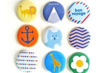 Button en badges design