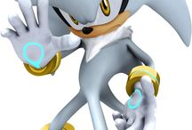 silver/sonic the hedgehog.