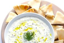 Dips / Greek Yogurt & garlic & cucumber