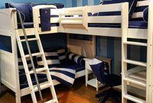 Triple & Quad Bunk Loft Beds for Kids