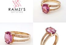 Natural Rubellite Tourmaline Gold and Diamonds / Natural Rubellite Tourmaline Center with diamond accent 18K Rose Gold. A Naturally luxurious and elegant piece. Since 1993 Ramzi's have been bringing class and sophistication to every occasion.  http://www.ramzisjewelry.com.au/collections/gemstone-diamond-rings-23/products/natural-rubellite-tourmaline-diamond-split-shank-ring-18k-rose-gold