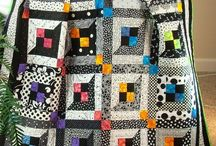 Great Black and White Quilts / This board contains all black and white quilts. / by Jackie Kunkel/Canton Village Quilt Works