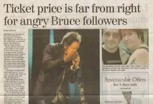 DEVILS & DUST IN THE NEWS / Cuttings about the Bruce Springsteen album and tour