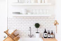 Åpne kjøkkenhyller