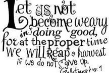Word / Scripture quotes
