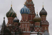 Srdečné pozdravy z Ruska / Služební cesta v Rusku. Navštívili jsme hlavní město Moskvu a Kaliningrad