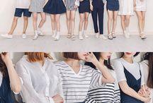 Korean Fashion Colour