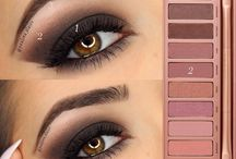 Eye shadow looks - tutorials / Tutorials of eye shadow looks