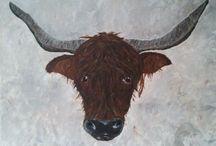 Koeien - Hobbykunstschilder / www.hobbykunstschilder.nl is de webshop voor hobbykunstschilders en kunstschilders die online willen exposeren en evt. verkopen.