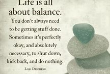 Cre8ing Balance / Finding balance in your life