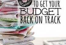 Budgeting and Frugal Living / Tips for saving money, living frugally, and living on a budget / by Menucha @ Moms and Crafters