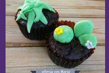 Cupcakes al cioccolato (riciclo uova di Pasqua)