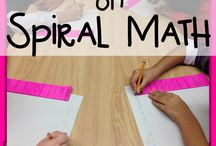6th Grade Spiral Math / by Cynthia Slane