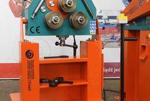 Biegemaschine zu Rohren, Stanzmaschine, Walzwerk