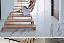 Escadas diferentes