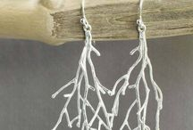 Twigs - silver jewellery