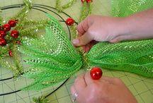 Deco poly mesh / by Debra Eliason