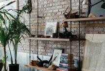 style industriel : étagères, bibliothèques