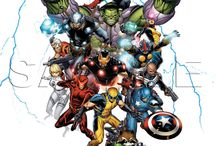 Marvel / Superheroes, Avnegers, Batman, Spiderman, Thor, Iron Man, Captain America, Hulk