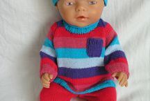 My knitting for dolls