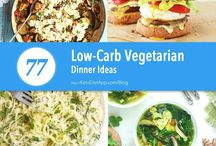 vegetarisch low carb
