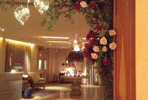 Margi Hotel / Ανθοστολισμός και διακόσμηση γάμων & δεξιώσεων στο Margi Hotel Βουλιαγμένη