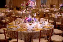 Damasks & Brocades / Events featuring damask and brocade table linens
