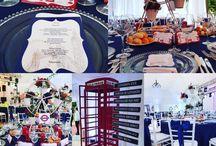 Our London Themed Wedding / london wedding theme