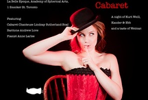 Cabaret inspiration / gonna play Sally Bowles in Cabaret this Feb.!