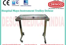 Mayo Trolley manufacturers India / Buyers mostly preferred to acquire quality products, so we initiate offering best good quality of Mayo's Trolley. This Mayo's Trolley known for its straight forward performance and high durability. The offered Mayo's Trolley is usually extensively used with an ample range at general wards and operation theatres.