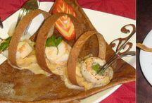Crêpes , la chandeleur ... / les crêpes , recette , galette de sarrazin