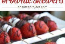 Appies /dessert - wedding