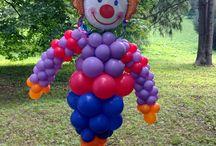 Naše balónové dekorácie