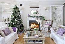 Navidad Dulce y decorada Navidad / Tejidos e ideas navideñas.