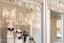 Window display- lingerie