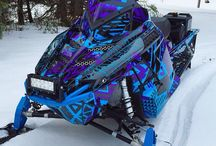 bryan's snowmobile action