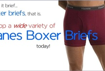 Hanes Boxer Briefs / Hanes continues to produce some of the highest valued boxer briefs on the market today. It's no wonder with the array of styles and price ranges to suit anyone in the need of a boxer briefing.  / by DannaOShee.com