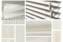 Colors of Nature / Mood boards from Hartmann&Forbes that show the coordinated impact of our natural windowcoverings, textiles and woodblinds.