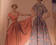 My Vintage Patterns  / Various internet images of vintage patterns since most of my pattern envelopes are in horrible shape.