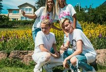 Marcus and Martinus with Lisa and Lena