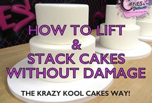 How to lift and stack cakes
