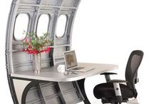 Home Décor / Decorate and furnish your home or office with up-cycled aircraft parts. Classy and stylish for the aviator in all of us.