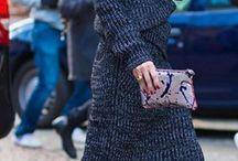 strick knitwear / lila kleidung kombinieren #violet #midiskirt #fashion #over40 #ü40mode